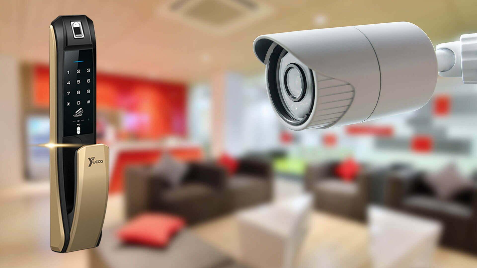 دوربین هوشمند و قفل دیجیتال در مدیریت ایمنی و امنیت