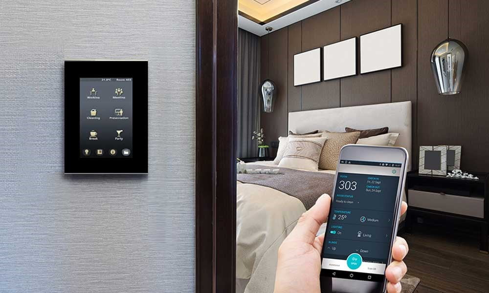 ویژگی های هتل هوشمند