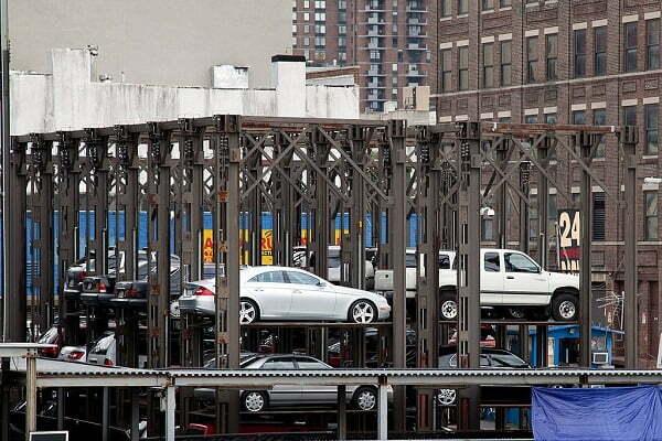انواع پارکینگ هوشمند
