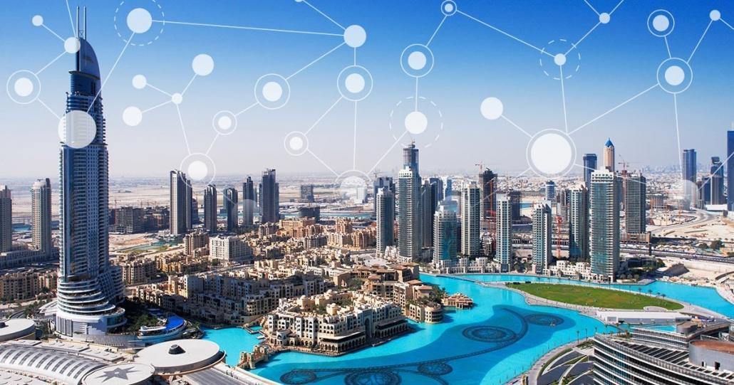 شهر هوشمند با ارتباطات اینترنتی