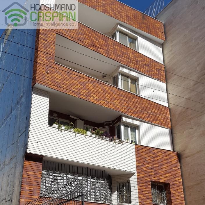 پروژه هوشمندسازی مجتمع مسکونی تالار