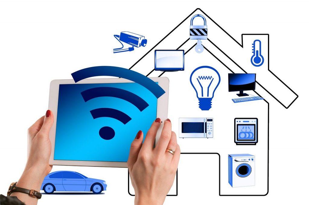 خانه هوشمند بی سیم - پروتکل WiFi