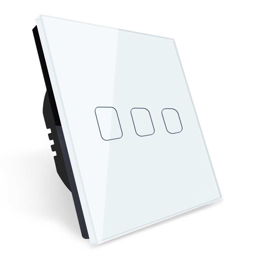 کلید لمسی سه پل هوشمند WiFi مدل EG3